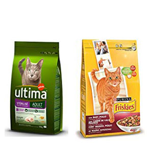 Comidas para gatos