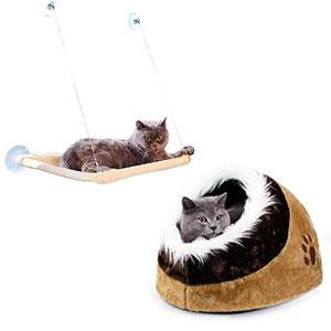 Camas y casas para gatos